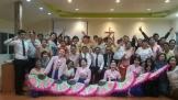 광림교회 트리니티찬양단과 청년선교국 마하나임AP 팀의 현지 선교 모습.