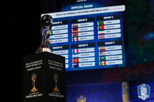 'FIFA U-20 월드컵 코리아 2017' 조별리그