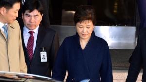 박근혜 전 대통령 귀가 / KBS