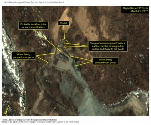 38노스 북한 제6차 핵실험 준비 정황