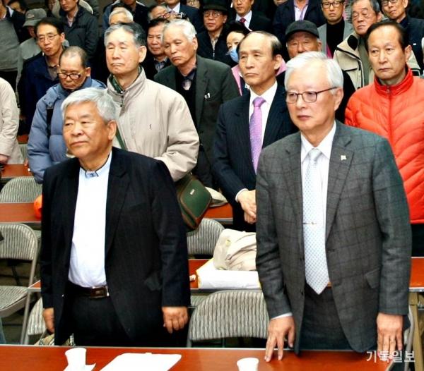 단일화회의 서경석·박정수 공동운영위원장