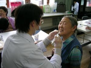 성누가회의 의료봉사활동 모습.