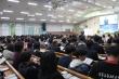 '김두식 목사 초청 춘계부흥성회'가 열리고 있는 순복음춘천교회 교회당 내부의 모습. 예배 성전