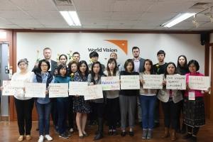 [사진제공=월드비전] 아동폭력근절 캠페인 기획을 위한 아시아지역 월드비전 워크숍 단체사진