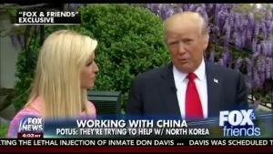 도널드 트럼프 미국 대통령 인터뷰