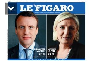 프랑스 대선 1차투표 결과