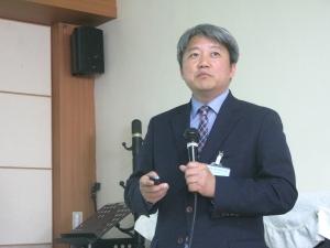 25일 낮 한국교회100주년기념관에서는 '제101회기 총회 전도정책 워크숍'이 열린 가운데, 장신대 성석환 교수가 주제강연을 전하고 있다.