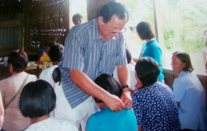 김맹회 목사의 필리핀선교 당시 치유사역