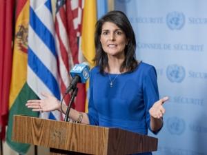 니키 헤일리 유엔주재 미국 대사