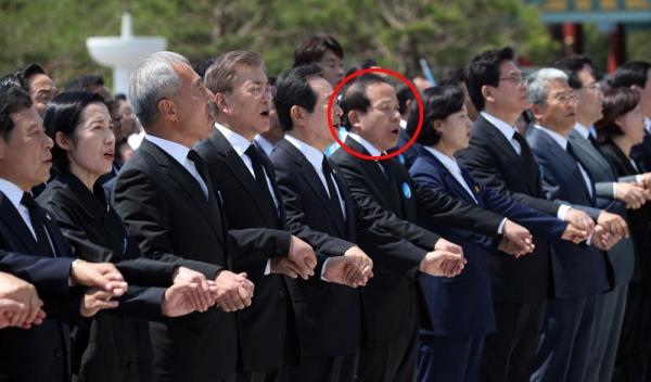 5.18 기념식 참석한 김이수 헌재소장 후보자