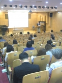 """한국기독교교육정보학회가 최근 총신대에서 """"일상의 삶을 통한 기독교교육""""이란 주제로 2017년 춘계학술대회를 개최했다."""