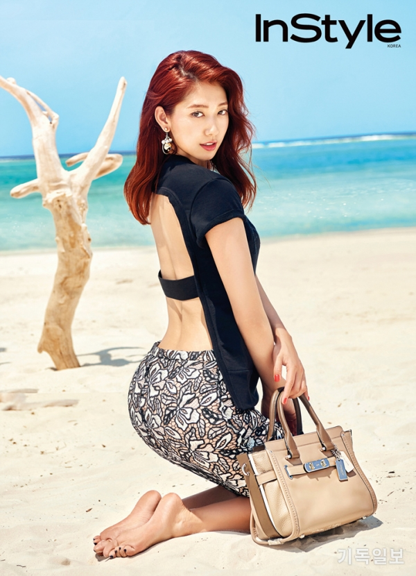 박신혜의 썸머 화보.
