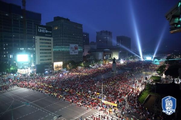 강화문 거리응원