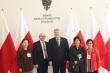 왼쪽부터 박혜영선교사, 폴란드VOM 마체이대표, Robert Mamatow의원, 폴리현숙박사,김지애선교사