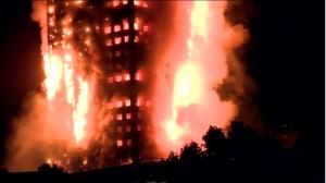 영국 아파트 화재