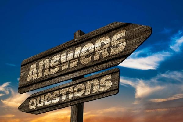 Q&A 질문과 답변 @Pixabay