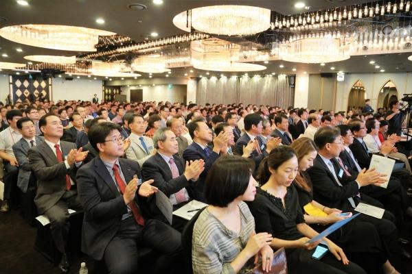 종교인 과세 이슈에 대한 관심을 나타내듯, 행사장에는 많은 성도들이 참석해 관심을 보였다.