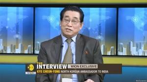 계춘영인도주재 북한 대사