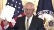 렉스 틸러슨 미국 국무장관