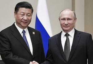 시진핑, 푸틴