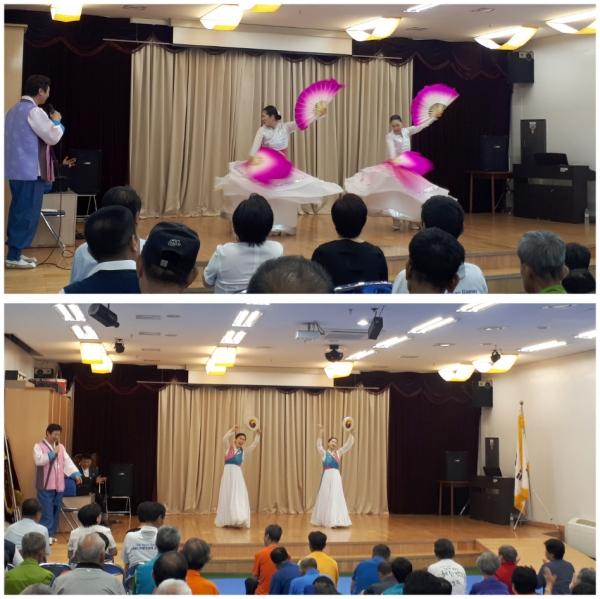 ▲효앤하모니국악찬양선교단 공연