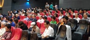 """한국교회연합은 지난 7월 10일 서울극장에서 영화 """"예수는 역사다"""" 특별시사회를 개최했다."""