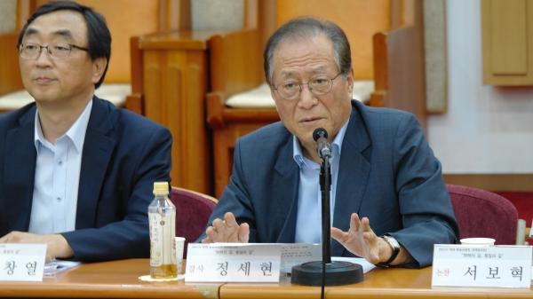 정세현 전 통일부장관