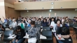 바른교육전국기독교사 수련회에 참석한 교사들이 한국사회와 한국교회를 위해 뜨겁게 기도하고 있다.