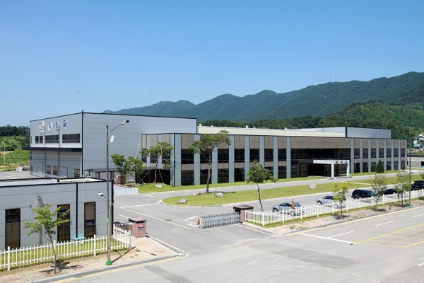 미래에너지 선도기업을 꿈꾸는 (주)청우 충북 본사 전경