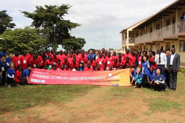 한동대, 우간다에서 적정기술기반 창업 워크숍 진행