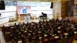 2017종교개혁500주년포럼이 여의도순복음교회에서 열린 가운데, 박종화 목사(경동교회 원로)가 발제하고 있다.