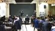 19일 CCMM에서 열린 '국민 심포지엄'에서 준비위원장 전광훈 목사가 나라와 민족을 걱정하며 열변을 토하고 있다.