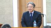 NCCK 차기 총무로 선출 된 이홍정 목사.