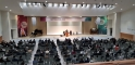 '종교개혁500주년기념 공동학술대회'가 열리고 있는 소망수양관 본당의 모습.