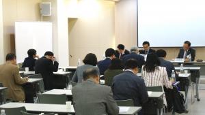 '종교개혁500주년기념 공동학술대회'가 20일과 21일 양일간 소망수양관에서 진행된 가운데, 분과 발표가 이뤄지고 있다.
