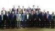 20일 아침 CCMM빌딩에서 제1차 교단장 전체회의를 마친 한기연 교단장·총무들이 기념촬영을 하고 있다.