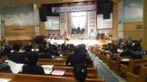 예장통합 총회 서울동남노회 제73회 정기회가 24일 마천세계로교회에서 열린 가운데, 이 자리에서 명성교회 김하나 목사 청빙의 건이 통과됐다.
