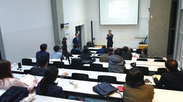 6일 저녁 서울대에서 SNU 트루스 포럼이 열렸다. 예비역 해군 준장인 심동보 나라사랑후원회 공동대표가 강연을 전했다.