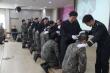 순복음춘천교회(담임 이수형 목사)가 지난 11월 중순 21사단 신병교육대 진중세례식을 진행했다.