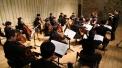 사진1. 8일 진행된 정기연주회에서 밀알첼로앙상블 날개 단원들이 연주를 하고 있다.