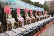 광림교회 남선교회총연합회가 지난 10일 주일 2부 예배 후 밀레니엄공원에서 '사랑의 쌀 및 연탄성금 전달식'을 가졌다.