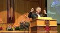 타코마중앙교회 2018년도 신년부흥회에서 설교하는 임현수 목사