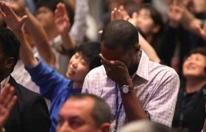 회개 기도 성령 눈물 집회 찬양