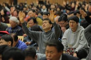 느헤미야 금식성회는 초교파적인 연합 금식성회로서 국가기도연합 주최로 1월 30일부터 2월 3일까지 화성시 흰돌산 수양관에서 진행됐다.
