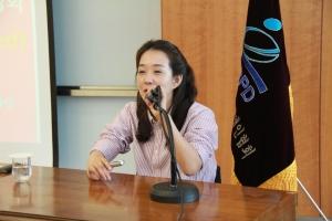 국내여성척수장애인 최초의 재활학 박사인 최혜영 박사.