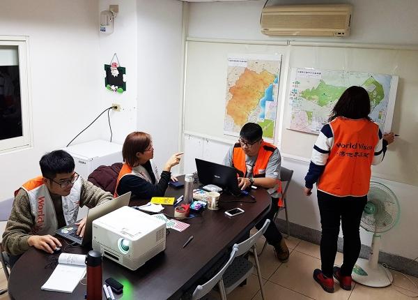 [사진제공=월드비전] 대만월드비전, 화롄 지역정부와 협력해 대피소 내 주민들 지원활동 펼쳐