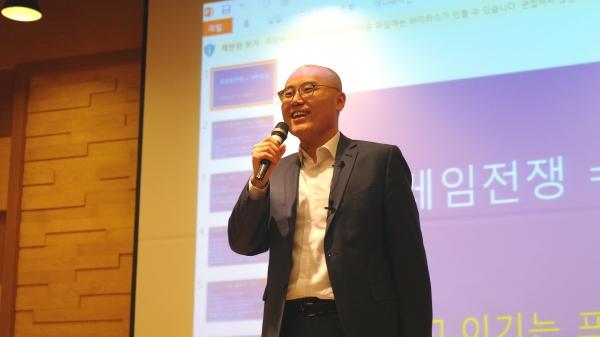울산대 이정훈 교수는 22일 오전 서울대에서 열린 '제1회 트루스 아카데미'를 통해 현 대한민국에서 벌어지고 있는 좌우 대립 '프레임 전쟁'의 실체와 필승 전략을 제시했다.