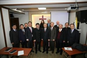 사단법인 세계성령중앙협의회(이사장 안준배 목사)는 한국기독교성령문화센터 기공예배를 2018년 2월 23일 오후3시 서울 종로구 이화동에 위치한 한국기독교성령문화센터에서 가졌다.
