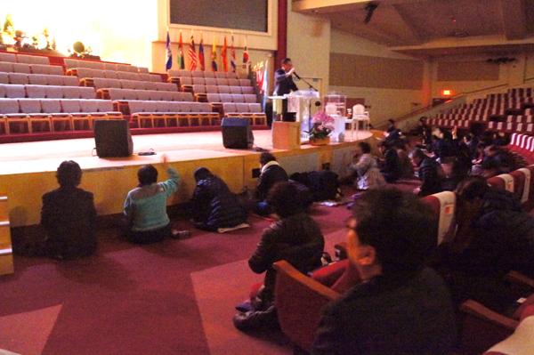 삼일절을 맞아 미주 한인교회들이 대한민국의 자유수호를 위해 특별히 기도하는 시간을 가졌다.