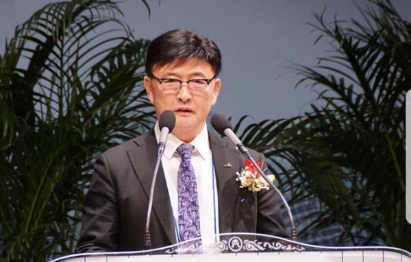 차기 세기총 대표회장 정서영 목사.